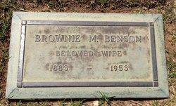 Brownie Maurine <i>Cheever</i> Benson