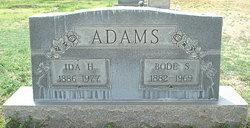 Bode Sherman Adams