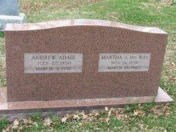 Martha Jane <i>Irvine</i> Adair
