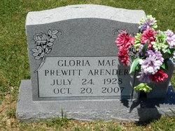 Gloria Mae <i>Prewitt</i> Arender
