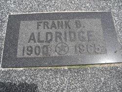 Frank Benjamin Aldridge