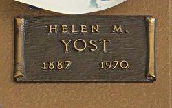 Helen B. <i>Carmichael</i> Morton Yost