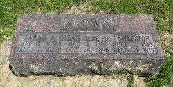 Sarah A <i>Frazier</i> Brown