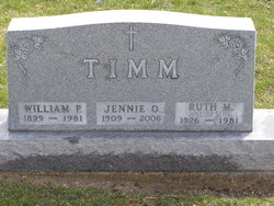 Jennie Olivia <i>Anderson</i> Timm