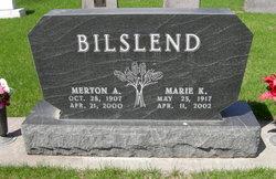Marie K. <i>Christensen</i> Bilslend