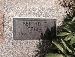 Bertha Esther <i>George</i> Coble