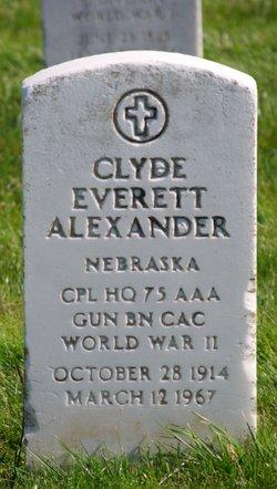 Clyde Everett Alexander