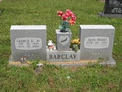 Jean <i>Rose</i> Barclay