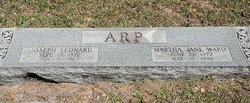 Martha Jane <i>Ward</i> Arp