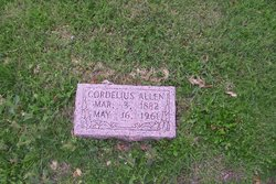 Cordelius E <i>Hale</i> Allen
