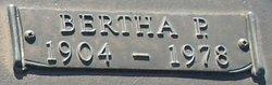 Bertha Pamela <i>Smith</i> Alford
