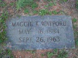 Maggie Irene <i>Lee</i> Watford