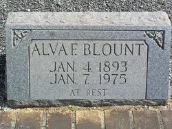 Alva F Blount