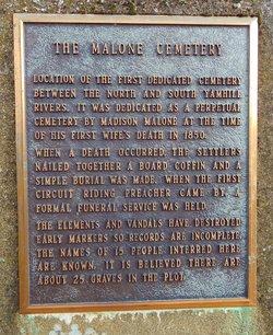 The Malone Cemetery