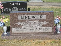 Rev Wilburn Audrain Brewer