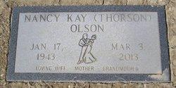 Nancy Kay <i>Thorson</i> Olson