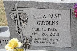 Ella <i>Giddens</i> Burnett