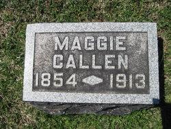 Margaret L Maggie <i>Aharrah</i> Callen