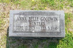 Anna Belle Goodwin Belle Winters