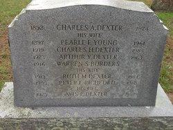 Pearl F <i>Young</i> Dexter