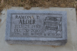 Ramona Dolores Mona <i>Carlson</i> Alder
