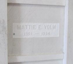 Mattie E <i>Arbogast</i> Volm