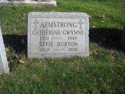 Effie Burton Armstrong