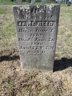 Jane <i>Miller</i> Reed