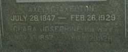 Clara Josephine <i>Dahlberg</i> Axelton