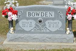 William R Bowden
