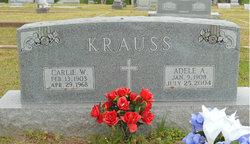 Adele A <i>Melde</i> Krauss