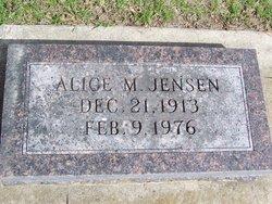Alice M. <i>Stauffer</i> Jensen