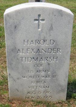 Harold Alexander Tidmarsh