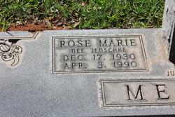 Rose Marie <i>Jenschke</i> Meurer