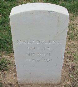 Magdalena <i>Kochmann</i> Bohley