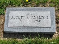 Alcott G. Axelton