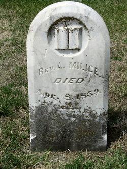 Rev Abram Milice