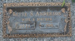 Bette S Anderson