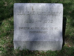 Blanche Gallagher <i>Hays</i> Gailey