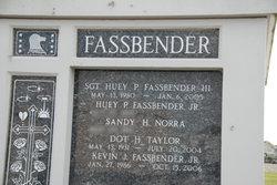 Sgt Huey P Fassbender, III