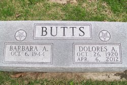 Dolores A <i>Lay</i> Butts