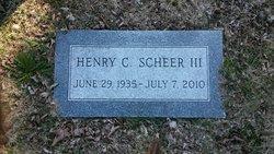 Henry Conrad Young Connie Scheer, III