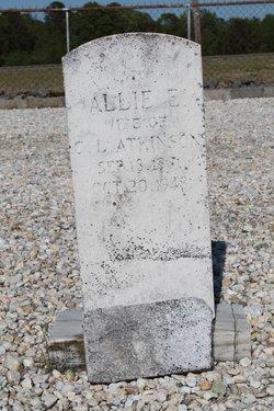 Alice Frances Allie <i>Evans</i> Atkinson