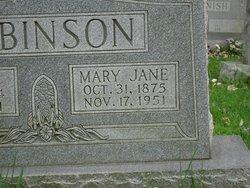 Mary Jane Mollie <i>Kays</i> Robinson
