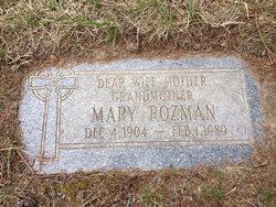 Mary Louise Barbara <i>Shabal</i> Rozman