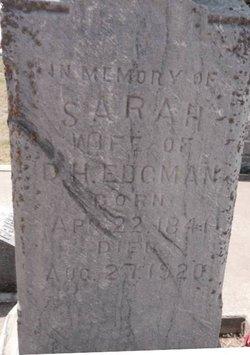 Sarah Meyers <i>Saffet</i> Edgman