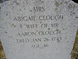 Abigail <i>Moulton</i> Clough
