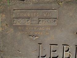 Charles William Lebkisher