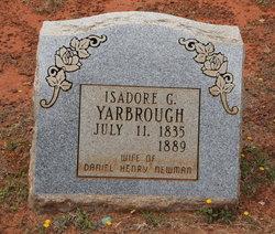 Isadore J. <i>Yarbrough</i> Newman