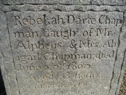 Rebekah <i>Dart</i> Chapman
